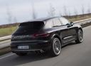 Фото авто Porsche Macan 1 поколение, ракурс: 225 цвет: черный