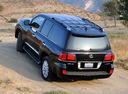 Фото авто Lexus LX 3 поколение, ракурс: 135 цвет: черный