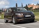 Фото авто Audi Q7 4L [рестайлинг], ракурс: 315 цвет: коричневый
