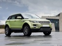 Фото авто Land Rover Range Rover Evoque L538, ракурс: 315 цвет: зеленый