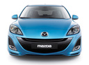 Фото авто Mazda 3 BL, ракурс: 0 - рендер цвет: голубой