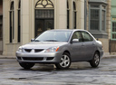 Фото авто Mitsubishi Lancer IX, ракурс: 45 цвет: серебряный