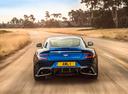 Фото авто Aston Martin Vanquish 2 поколение, ракурс: 180 цвет: голубой
