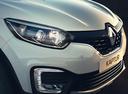 Фото авто Renault Kaptur 1 поколение, ракурс: передняя часть цвет: белый