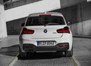 Фото авто BMW 1 серия F20/F21 [рестайлинг], ракурс: 180 цвет: белый