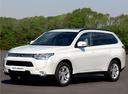 Фото авто Mitsubishi Outlander 3 поколение, ракурс: 45 цвет: белый