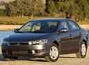 Фото авто Mitsubishi Lancer X, ракурс: 45 цвет: серый