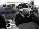 Фото авто Toyota Kluger XU40, ракурс: рулевое колесо