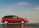 Фото авто Subaru Impreza 4 поколение [рестайлинг], ракурс: 270 цвет: красный