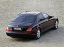 Фото авто Maybach 57 1 поколение, ракурс: 225 цвет: бордовый