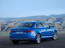 Фото авто Audi A4 B9, ракурс: 225 цвет: голубой