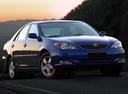Фото авто Toyota Camry XV30, ракурс: 315 цвет: синий