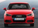 Фото авто Audi A1 8X [рестайлинг],  цвет: красный