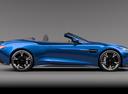 Фото авто Aston Martin Vanquish 2 поколение, ракурс: 270 цвет: синий