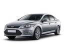 Фото авто Ford Mondeo 4 поколение [рестайлинг], ракурс: 45 цвет: серебряный