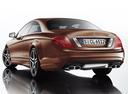 Фото авто Mercedes-Benz CL-Класс C216 [рестайлинг], ракурс: 135 цвет: коричневый
