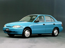 Фото авто Hyundai Accent X3, ракурс: 90