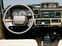 Фото авто Toyota Land Cruiser J70, ракурс: рулевое колесо
