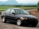 Фото авто BMW 3 серия E46, ракурс: 315 цвет: черный