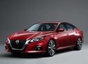 Фото авто Nissan Altima L34, ракурс: 45 цвет: красный