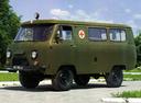 Фото авто УАЗ 452 2 поколение, ракурс: 45 цвет: зеленый