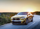 Фото авто BMW X2 F39, ракурс: 45 цвет: золотой