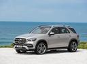 Фото авто Mercedes-Benz GLE-Класс V167, ракурс: 45 цвет: серебряный
