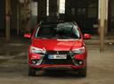 Фото авто Mitsubishi ASX 1 поколение [2-й рестайлинг],  цвет: красный