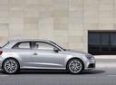 Фото авто Audi A3 8V [рестайлинг], ракурс: 270 цвет: серебряный
