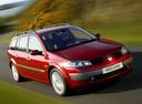 Фото авто Renault Megane 2 поколение, ракурс: 315 цвет: красный