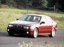 Фото авто BMW 5 серия E39 [рестайлинг], ракурс: 45 цвет: бордовый