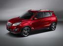 Фото авто Changan CS35 1 поколение, ракурс: 45 - рендер цвет: красный