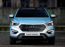 Фото авто Hyundai Santa Fe DM,  цвет: голубой