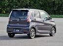 Фото авто Mitsubishi eK B11 [рестайлинг], ракурс: 225 цвет: фиолетовый