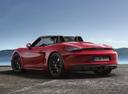 Фото авто Porsche Boxster 981, ракурс: 135 цвет: красный