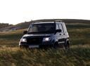 Фото авто УАЗ Patriot 1 поколение [рестайлинг],  цвет: черный