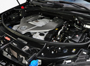 Фото авто Mercedes-Benz M-Класс W164 [рестайлинг], ракурс: двигатель