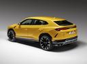 Фото авто Lamborghini Urus 1 поколение, ракурс: 135 цвет: желтый