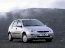 Фото авто Ford Focus 1 поколение, ракурс: 315 цвет: серебряный