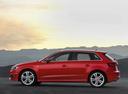 Фото авто Audi A3 8V, ракурс: 90 цвет: красный