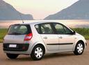 Фото авто Renault Scenic 2 поколение, ракурс: 225 цвет: серебряный
