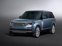 Фото авто Land Rover Range Rover 4 поколение [рестайлинг], ракурс: 45 - рендер цвет: голубой