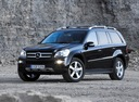 Фото авто Mercedes-Benz GL-Класс X164, ракурс: 45 цвет: черный