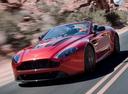 Фото авто Aston Martin Vantage 3 поколение [2-й рестайлинг], ракурс: 45 цвет: красный