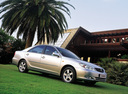 Фото авто Toyota Camry XV30, ракурс: 270 цвет: серебряный