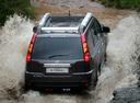 Фото авто Nissan X-Trail T31, ракурс: 180 цвет: мокрый асфальт