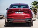 Фото авто BMW X6 F16, ракурс: 180 цвет: красный