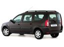 Фото авто ВАЗ (Lada) Largus 1 поколение, ракурс: 135 - рендер цвет: коричневый