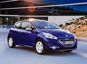 Фото авто Peugeot 208 1 поколение, ракурс: 315 цвет: синий
