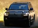 Фото авто Toyota Land Cruiser J200 [2-й рестайлинг],  цвет: черный